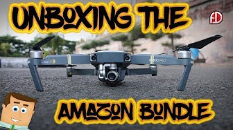 Unboxing The Amazon DJI Mavic Bundle, What's Inside!