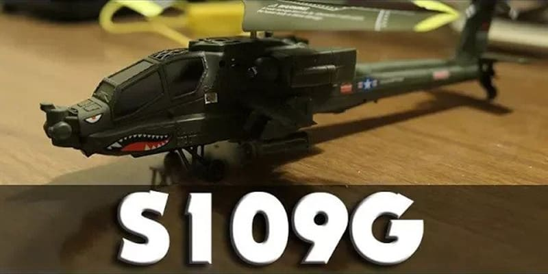 Mini Apache Helicopter – S109G In-Depth Review – Breaks On First Crash