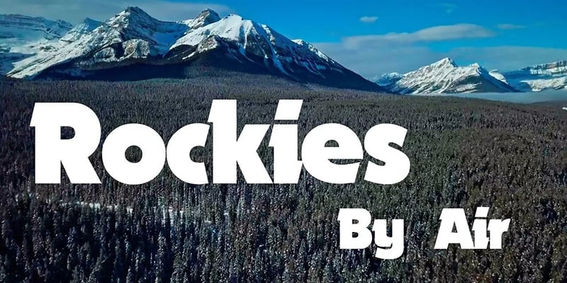 Rockies By Air