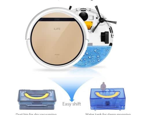 ILIFE V5s Robotic Vacuum Cleaner