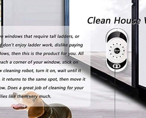 Cop Rose X4 Window Cleaning Robot
