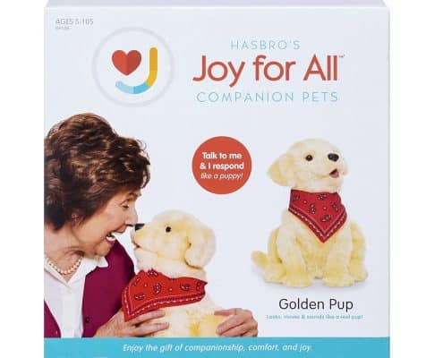 Joy For All Companion Pet Golden Pup