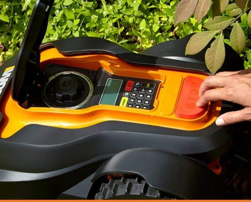 Worx WG794 Landroid Pre-Programmed Robotic Lawn Mower