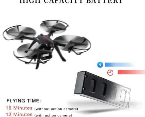 RCtown Brushless Drone Support Gopro Action Cameras