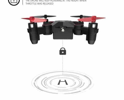 Holy Stone HS190 Foldable Mini Nano RC Drone for Kids