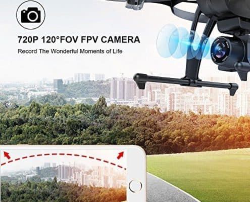 DROCON U818PLUS WIFI FPV Drone