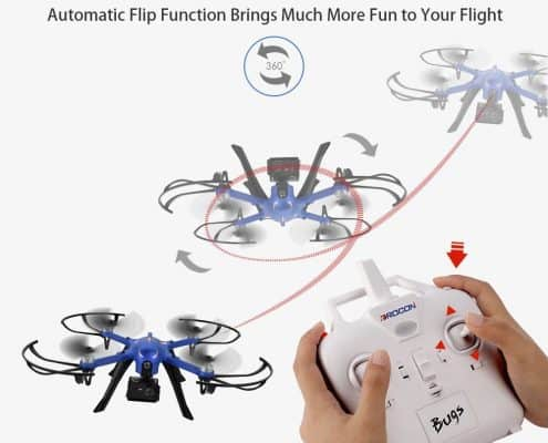 DROCON Blue Bugs Brushless Drone