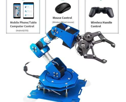 LewanSoul xArm 6DOF Full Metal Programmable Robotic Arm