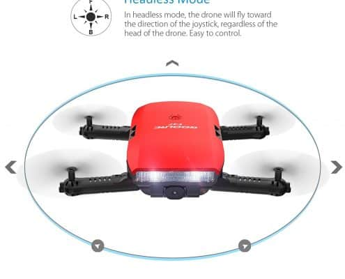 GoolRC T47 FPV Drone Foldable with Wifi Camera Live Video