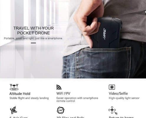 JJRC H37 Elfie Pocket Fold Portable