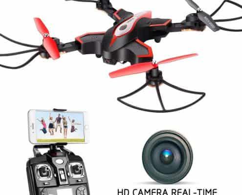 DoDoeleph Syma X56W Foldable RC Drone