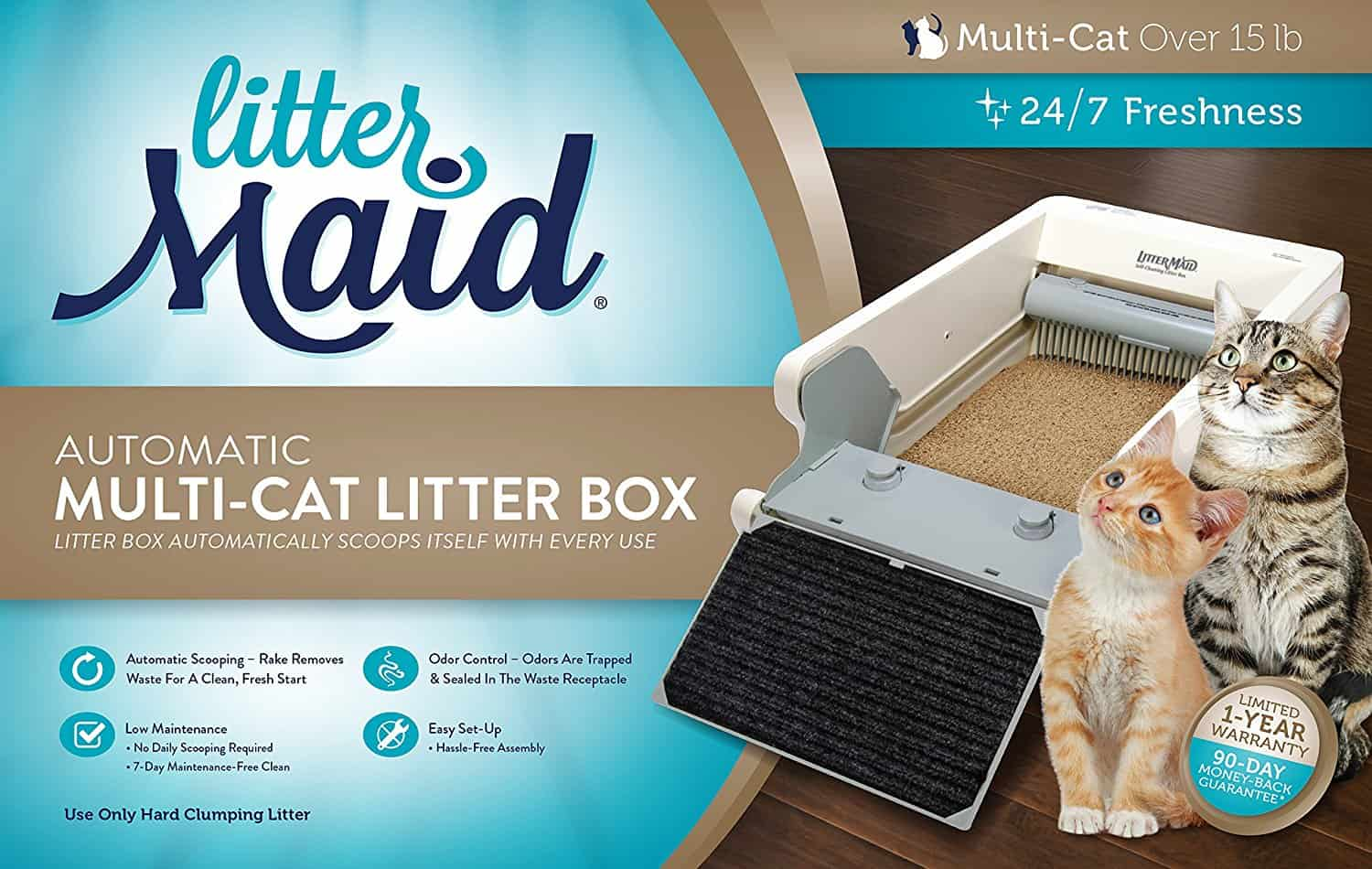 Top 6 Best Automatic Self Cleaning Litter Boxes 2018 Reviews Fully