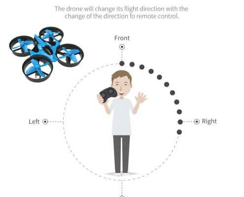 JJRC H36 Mini Drone 2.4G 4CH 6Axis