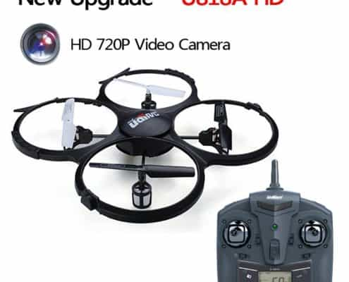 UDI U818A-HD 2.4GHz 4 CH 6 Axis Headless RC