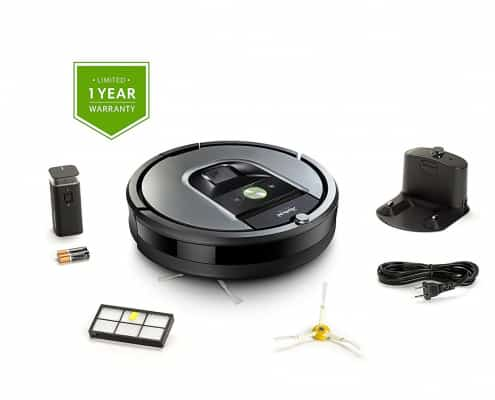 iRobot Roomba 960 Robot Vacuum with Wi-Fi Connectivity, Works with Alexa, Ideal for Pet Hair