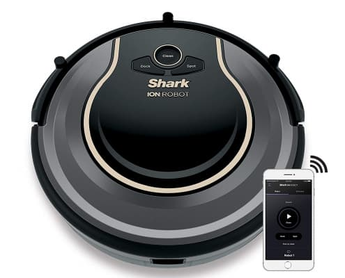 Shark ION Robot Vacuum WIFI-Connected, Voice Control Dual-Action Robotic Vacuum