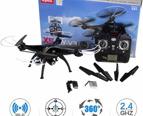Quadcopter RC Drone with Camera for Beginners by Cheerwing